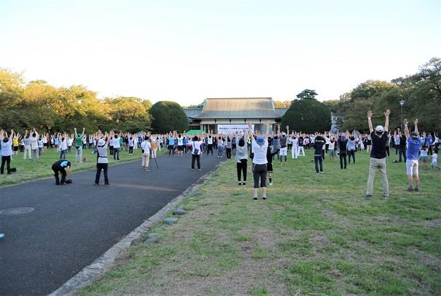 NHK特別巡回ラジオ体操が近所に来た