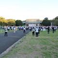 写真: NHK特別巡回ラジオ体操が近所に来た