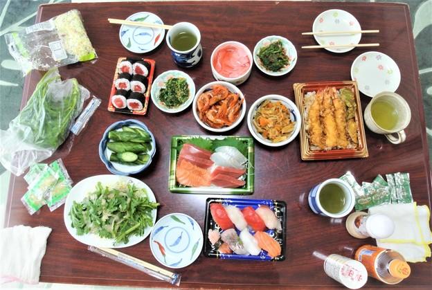 11月23日家内の実家で昼食