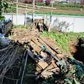 12月6日旧菜園撤去片付け開始