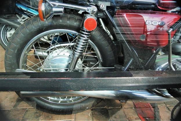 幻のバイク・kawasaki MACH3・500