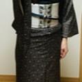 Photos: 龍郷柄に背骨柄京袋帯