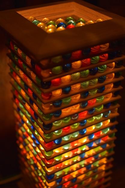 ビー玉ライト