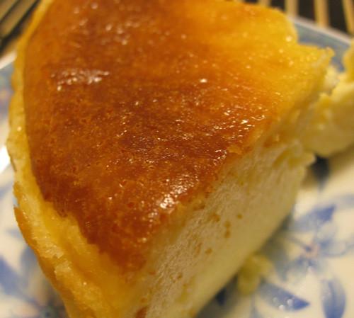 チーズケーキ-カット