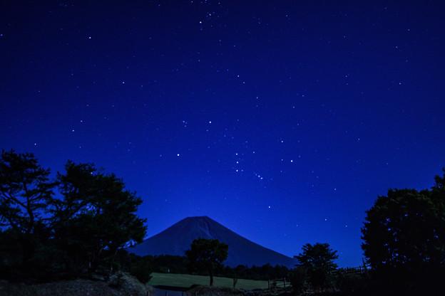 月夜のオリオン座