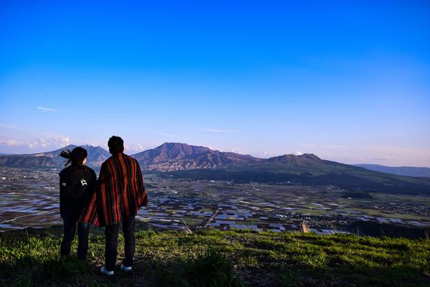 大観峰 阿蘇