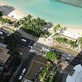写真: ワイキキビーチタワー。ラナイから撮影