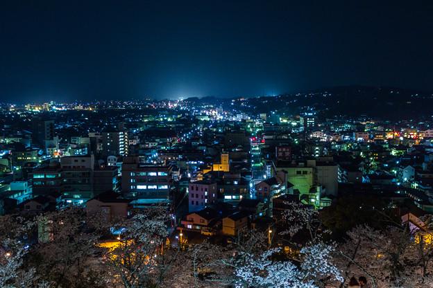 津山の夜景