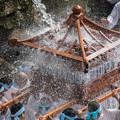 写真: お滝祭り