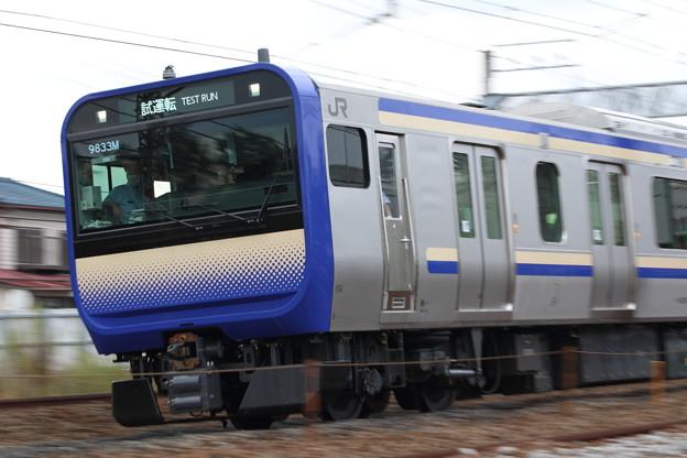 E235系1000番台 試運転