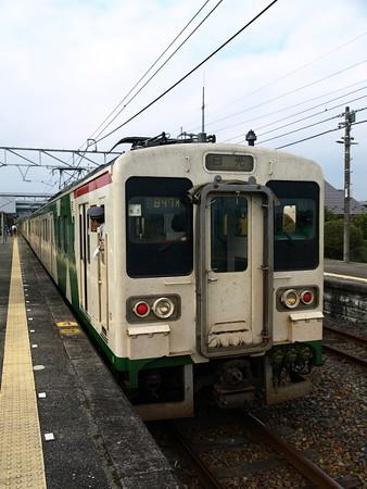 105系日光線(下野大沢駅)2