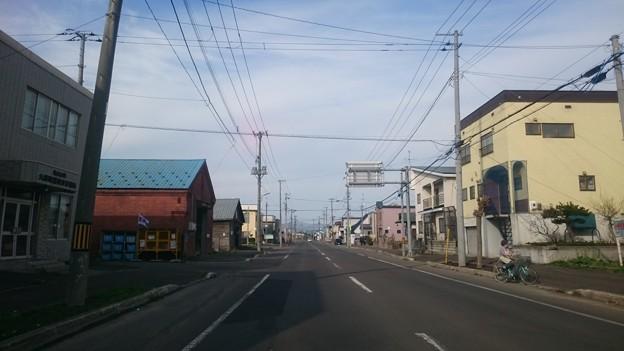 五月五日の街の切り抜き 北海道いわみざわ市