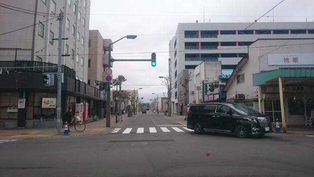 五月十五日 交差点 いわみざわ 北海道 日本