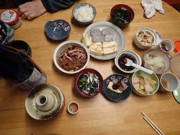 2月24日夕食(家)