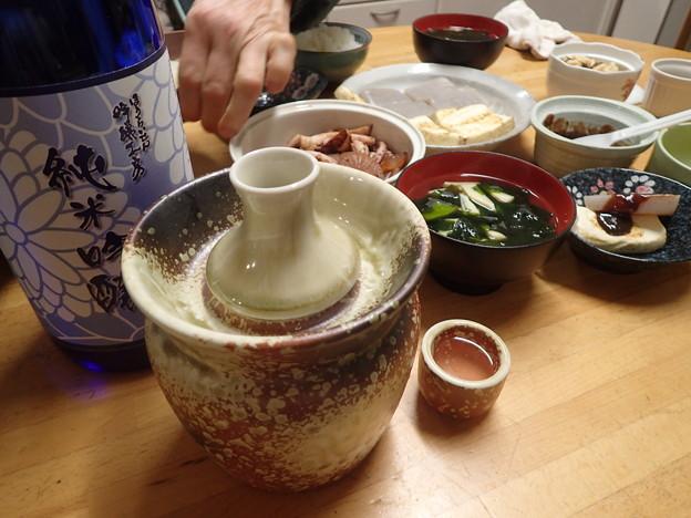 蓬莱泉純米吟醸