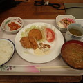 2月25日夕食(蒲郡競艇場職員食堂)