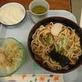 5月23日夕食(蒲郡競艇場職員食堂)