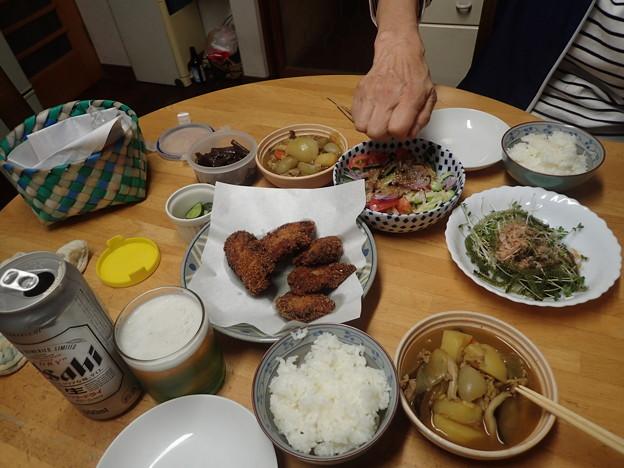 6月23日夕食(家)