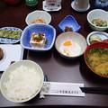 7月17日朝食(市房観光ホテル)
