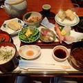 7月19日夕食(ホテル竹島)