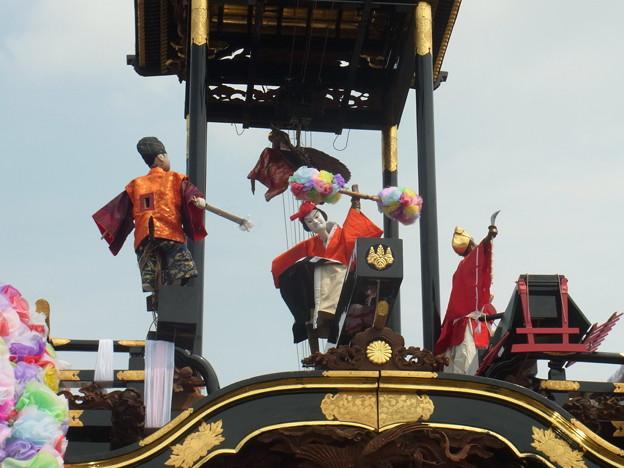 写真: 岡田の祭り (41)