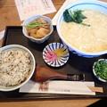 8月20日昼食(清田庵)