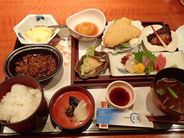 11月15日夕食(ホテル竹島)