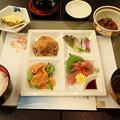 11月20日夕食(ホテル竹島)