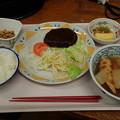 1月13日夕食(蒲郡競艇場職員食堂)