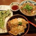 1月17日昼食(丸亀製麺)