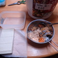 Photos: チーズ豆腐作製(山三レシピ)
