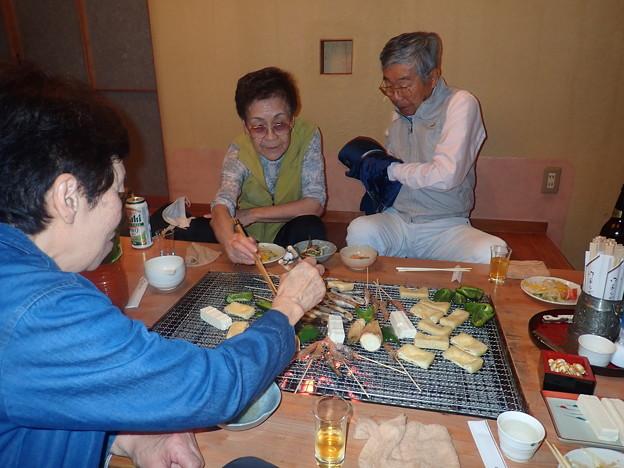 Photos: 新そばを打つ(三の丸) (2)