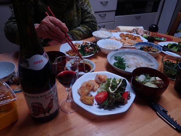 Photos: 11月30日夕食(家)