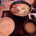 牛豆乳鍋定食(すき家)