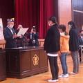 Photos: 国際平和ポスターコンテスト(北部小体育館) (5)