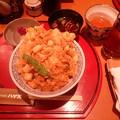 かき揚げ天丼(はげ天)