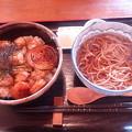 Photos: 炭焼き焼き鳥丼セット(うんな)