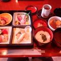 Photos: 新年会食事あ(ホテル竹島)
