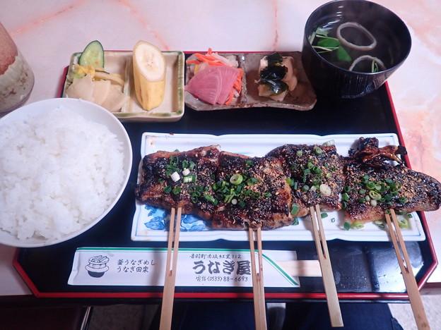 うなぎ田楽定食(うなぎ屋)