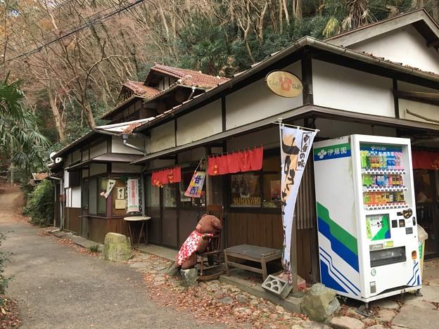 紅葉の茶屋
