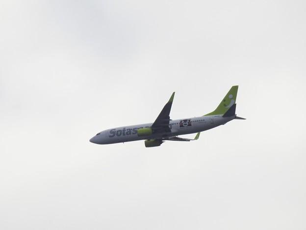 Photos: JA812X がんばるけん!くまモンGO
