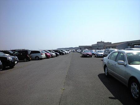 おさかな市場 臨時駐車場
