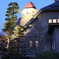 Photos: ライトアップされる記念館