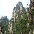 絵よりもなお絵のようにA rock formation in Huangshan
