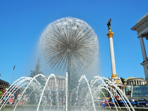 キエフより愛と涼をこめてFrom Kiev with love to cool off