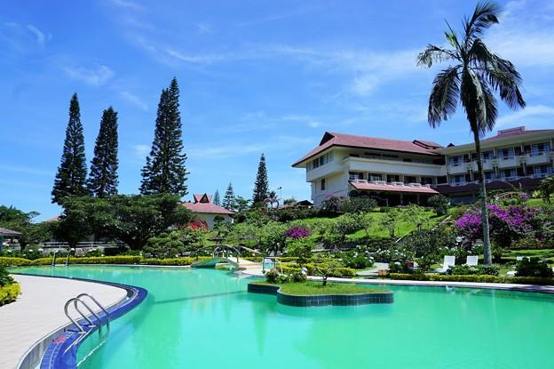 Photos: 高原リゾート~インドネシア Lovely pool