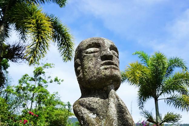 ひたぶる心~インドネシア  Batak Tribe's Stone Statue