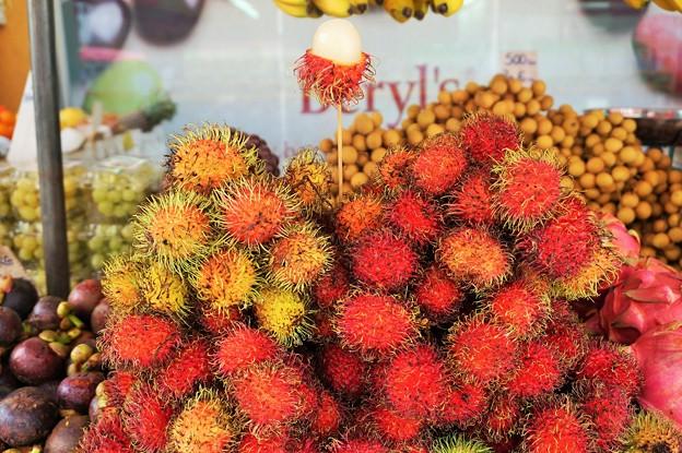 ランブータン~マレーシア Exotic Fruit Rambutan
