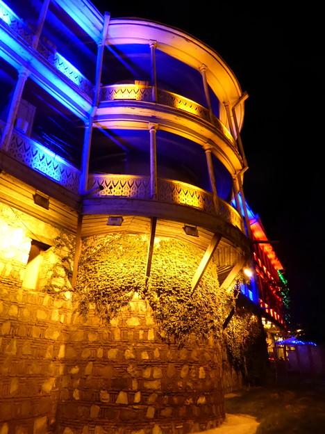 トビリシの夜景~ジョージア Tbilisi Night View