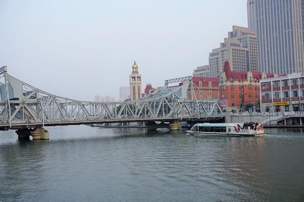 天津解放橋~中国 Jiefang Bridge